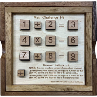 Math Challenge 1-9