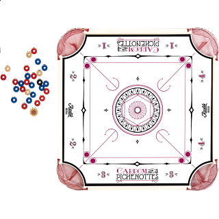 Pinnochi and Carrom 2 in 1
