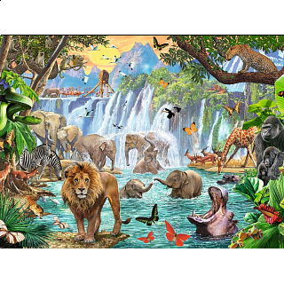 Waterfall Safari