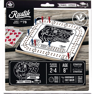 Lucky 29 Cribbage - Travel Game