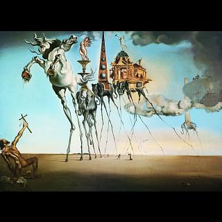 Salvador Dali: The Temptation of St. Anthony