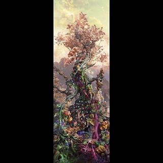 Enigma Trees: Phosphorus Trees - Vertical Panorama