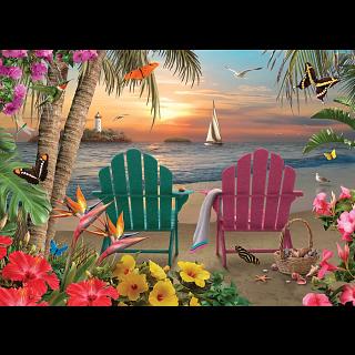 Island Paradise - Large Piece