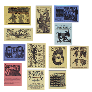 Sam Loyd's Puzzle Card Collection