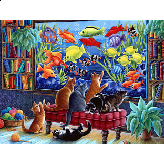 Kittens Fishing