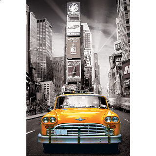 City Collection: New York City - Yellow Cab