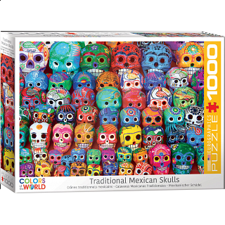 Traditional Mexican Skulls