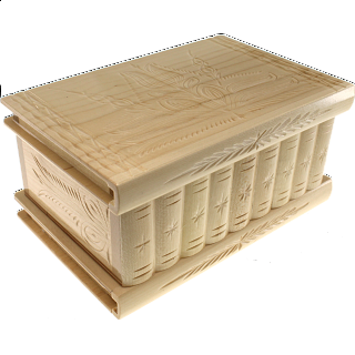 Romanian Puzzle Box - Extra Large Natural