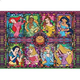 Disney Fine Art: Princess Collage