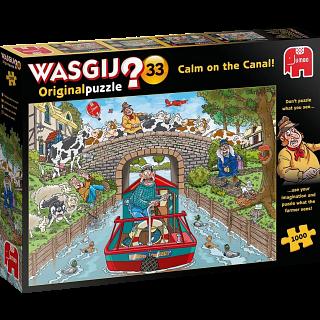Wasgij Original #33: Calm on the Canal
