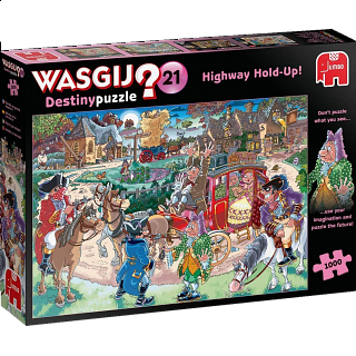 Wasgij Destiny #21: Highway Hold-Up!