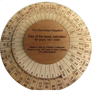 Doomsday Day of the Week Calculator