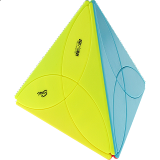 Clover Pyraminx - Stickerless