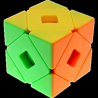 MFJS Meilong Double Skewb Cube - Stickerless