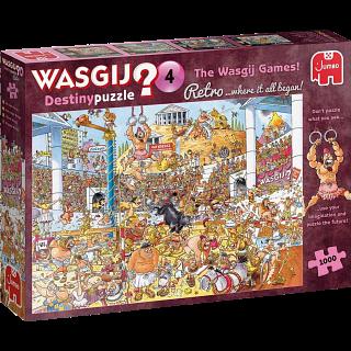 Wasgij Destiny Retro #4: The Wasgij Games!