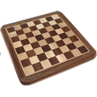 10 Inch Shisham Chess Board - Minor Imperfections