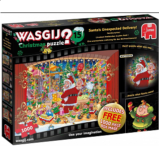 Wasgij Christmas #15 : Santa's Unexpected Delivery