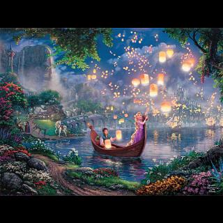 Thomas Kinkade: Disney - Tangled