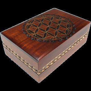Geometric Design Puzzle Box