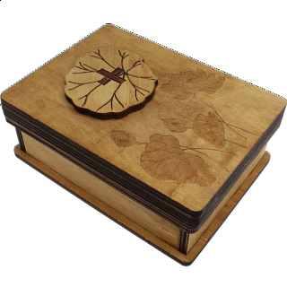 Puzzle Solution for Lotus Box - Wooden Puzzle Box