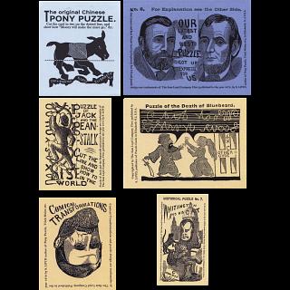 Sam Loyd Collection - 6 Card Set