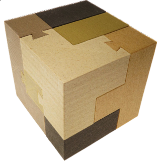 Dovetail Soma Cube