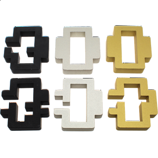 Group Special - Set of 4 Exclusive Puzzle Master Metal Puzzles