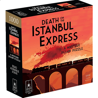 Mystery Puzzle - The Orient Express