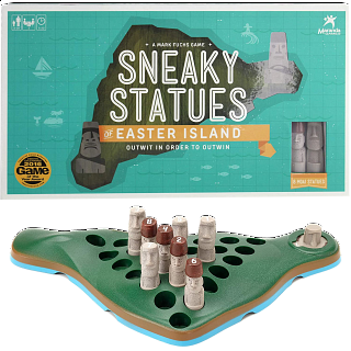 Sneaky Statues of Easter Island