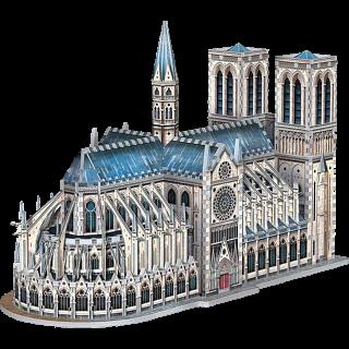 Notre-Dame de Paris - Wrebbit 3D Jigsaw Puzzle