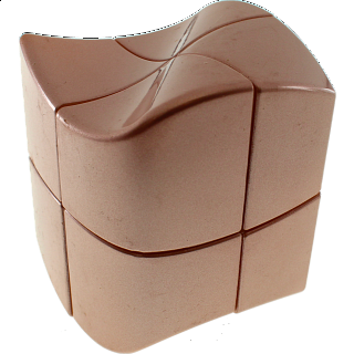YJ 2x2x2 Wave Cube - Rose Golden