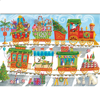 Christmas Train - Family Pieces