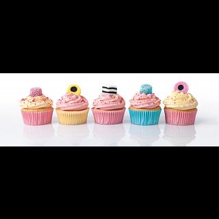 Panorama: Licorice Cupcakes