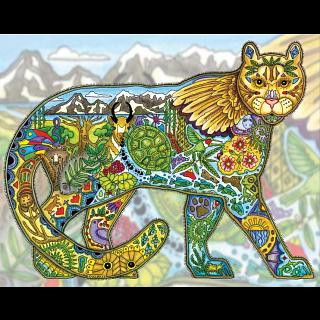 Cougar - Large Piece