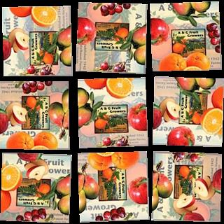 Scramble Squares - Fruit