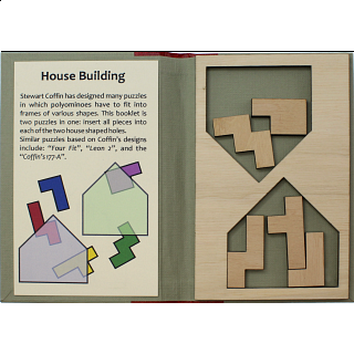 Puzzle Booklet - House Building