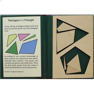 Puzzle Booklet - Pentagon to Triangle