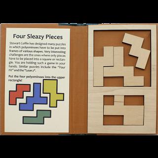 Puzzle Booklet - Four Sleazy Pieces