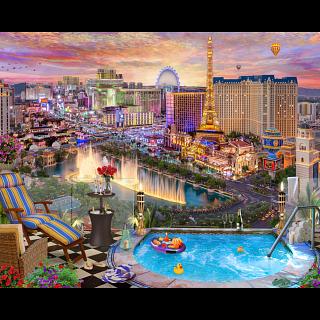 Las Vegas Twilight