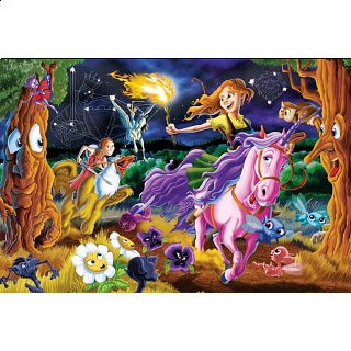 Mystical World - Family Pieces Puzzle