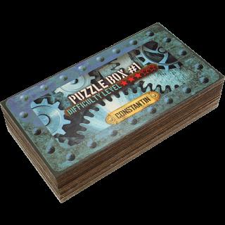 Constantin Puzzle Boxes - Set of 2