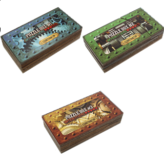 Constantin Puzzle Boxes - Set of 2