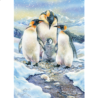 Penguin Family - Family Pieces Puzzle