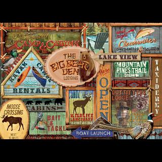 Rustic Lodge: Rustic Signs