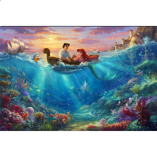 Thomas Kinkade: Disney - Falling in Love