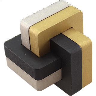Knotty 6 - Metal Puzzle