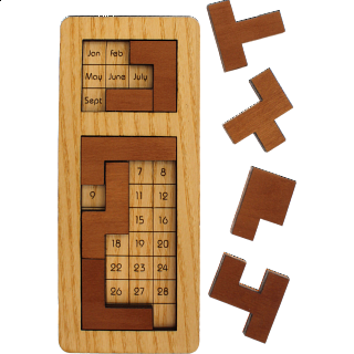 Puzzlendar - Monthly