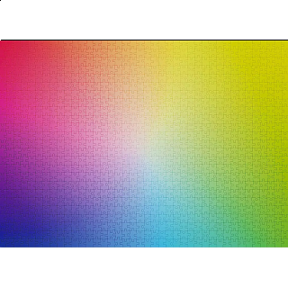 Gradient - 2000 Piece Jigsaw Puzzle
