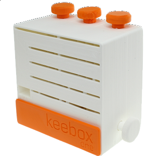 keebox one - White / Orange