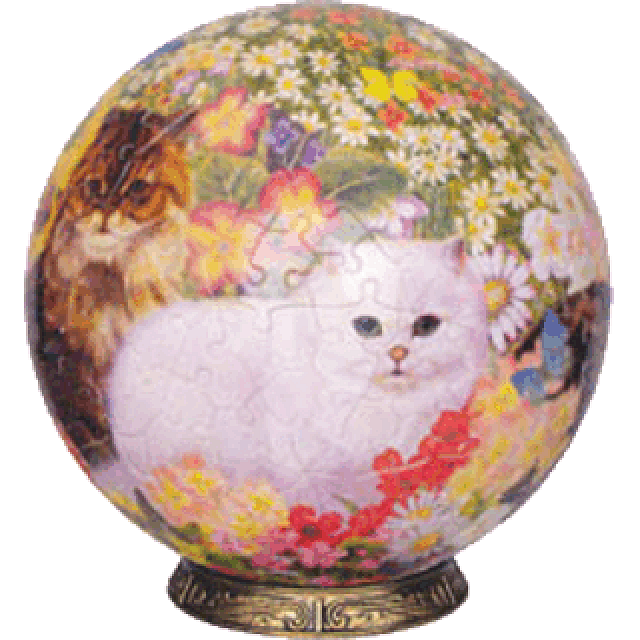 cats-in-flowers-9-inch